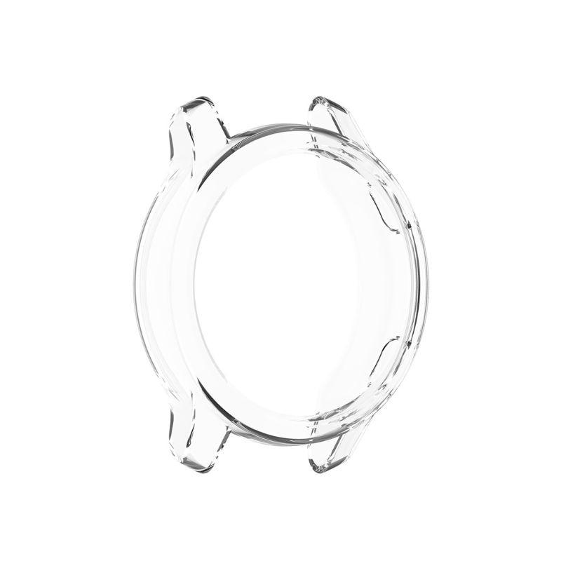 Reloj de silicona cubierta de la caja del Protector Soft TPU claro de la cáscara de la piel para Garmin-Venu