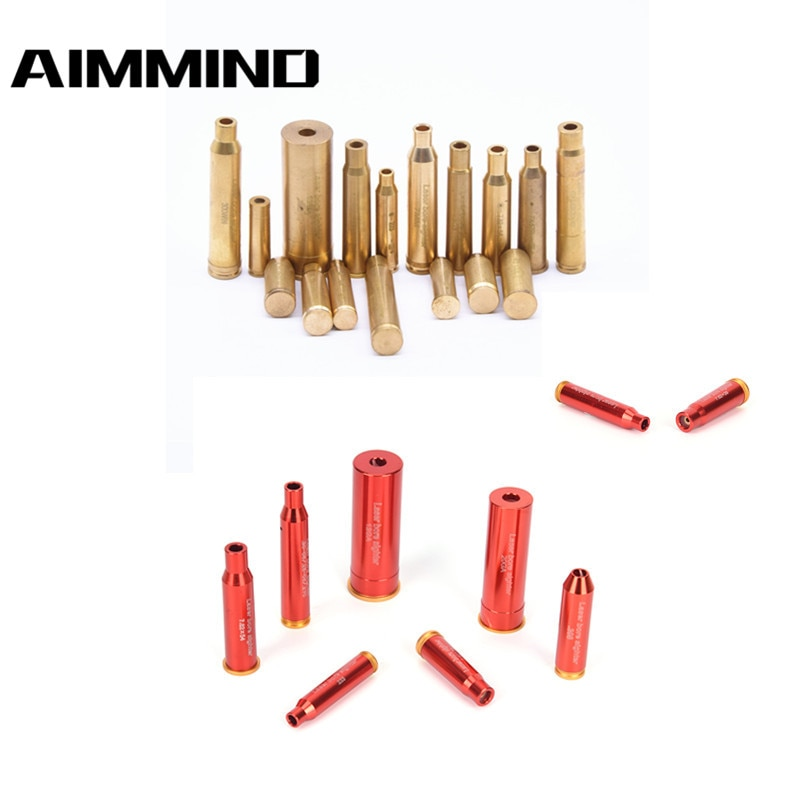 (NO batteries) Hunting Red Dot Laser 12 20GAUGE 5.45×39 7.62×54 Cartridge Bore Sighter 12GA Laser