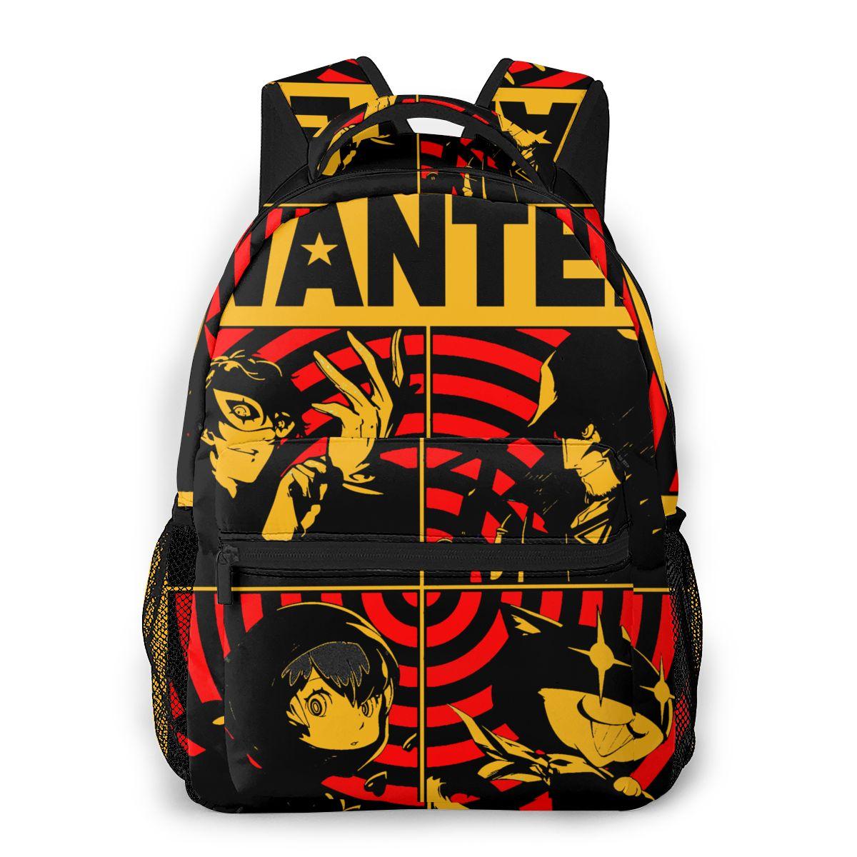 مطلوب ملصق للمراهقين حقيبة مدرسية الصغار حقيبة شخصية 5 الألعاب الملكية P5S حقيبة للسفر حقائب الظهر للبنين والبنات