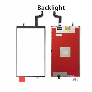 Origin LCD Display Screen Backlight Panel For iPhone 5 5S 6 6P 6S 7 8 Plus XR 11 Light Film with 3D Touch Function Flex Cable