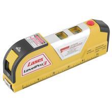 XX-LV02 multifonction niveau Laser nivel fil ligne infrarouge niveau Laser ruban à mesurer 8FT 2 voies niveau bulles niveau Laser