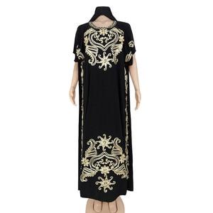 2021 Dashiki African Clothing Robe Africaine Femme Slim Maxi Dress Africa Clothes Long Dresses For Women Muslim Fashion Abaya