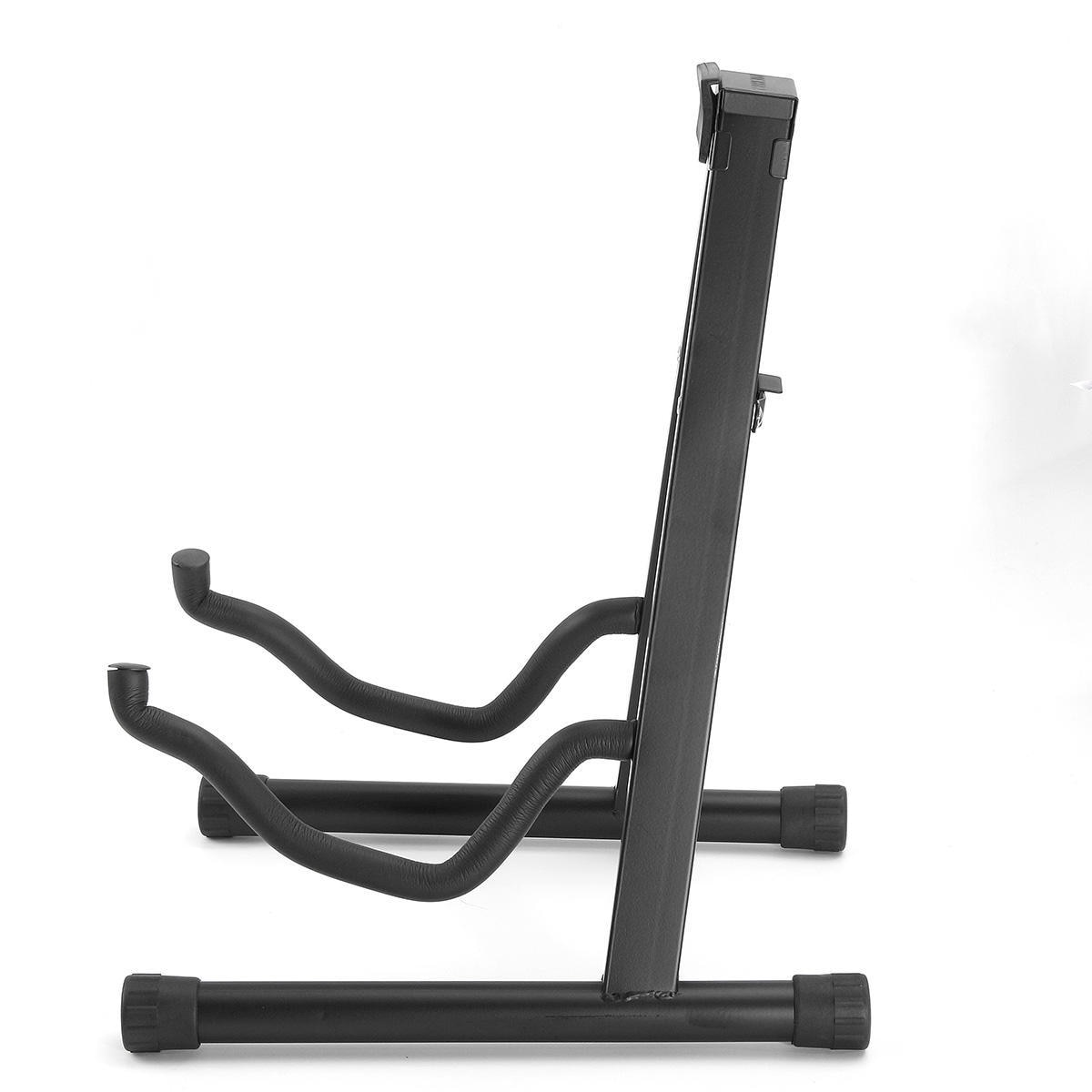 Portable Universal Guitar Stand Black Folding Tripod Stand Acoustic Classical Electric Guitar Stand Bass Holder Multifunctional enlarge