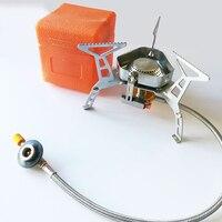 Походная газовая плита, подойдет для рыбалки и не только