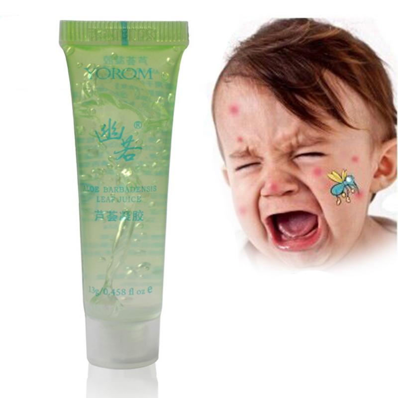 100% Aloe Vera Gel para el acné eliminar cicatriz acné reparación aliviar picazón Crema de cuidado de la piel reparación Natural productos de belleza TSLM2