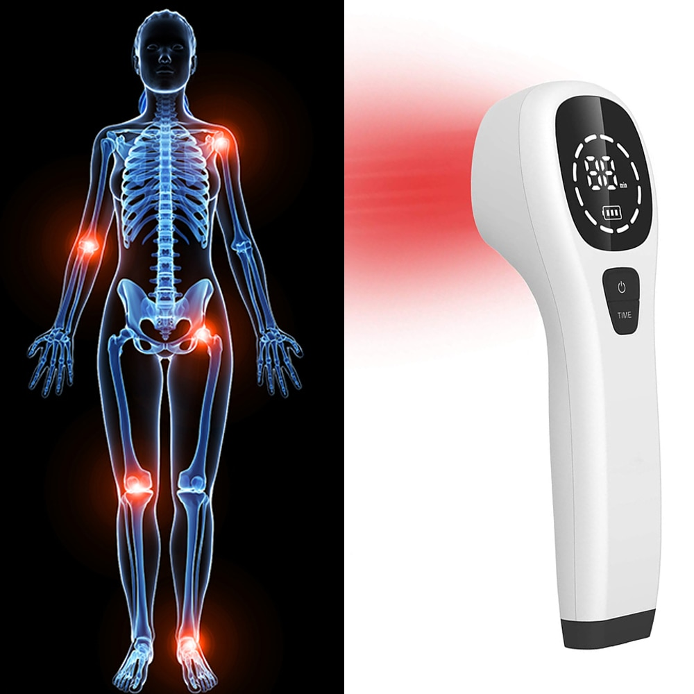Pain Relief Laser Therapy Rehabilitation Treatment Elbow Pain Physical Therapy Cold Laser Apparatus Home Laser for Visceral Pain