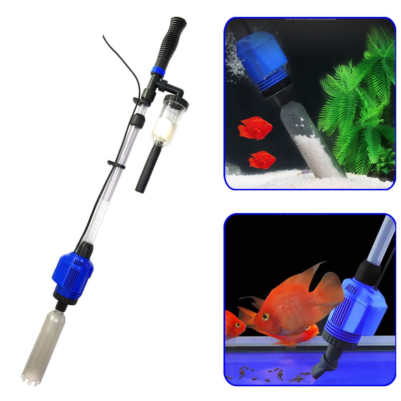 3 ב 1 חשמלי אקווריום חצץ אבק מנקה אוטומטי מים מחליף בוצה חולץ חול מכונת כביסה מים סינון לדגי טנק