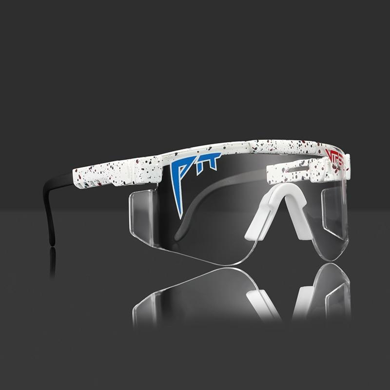 Pit Viper The Originals Shield Sunglasses Men ANSI Z87.1 Enhanced Lens Sun Glasses Unisex Freely Adj