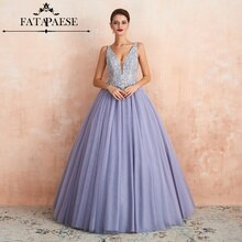 2019 en Stock nouveautés Abendkleider robes de soirée longues avec col en v fermeture éclair robe Vestido robes formelles vraies Photos CPS1446
