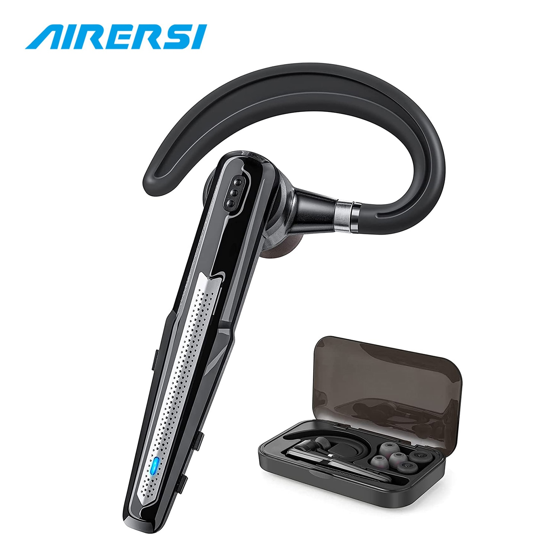 Newest B6 Bluetooth Headset 5.0 Handsfree Earpiece Apt-X HD Dual Mic CVC8 Noise Cancelling Wireless
