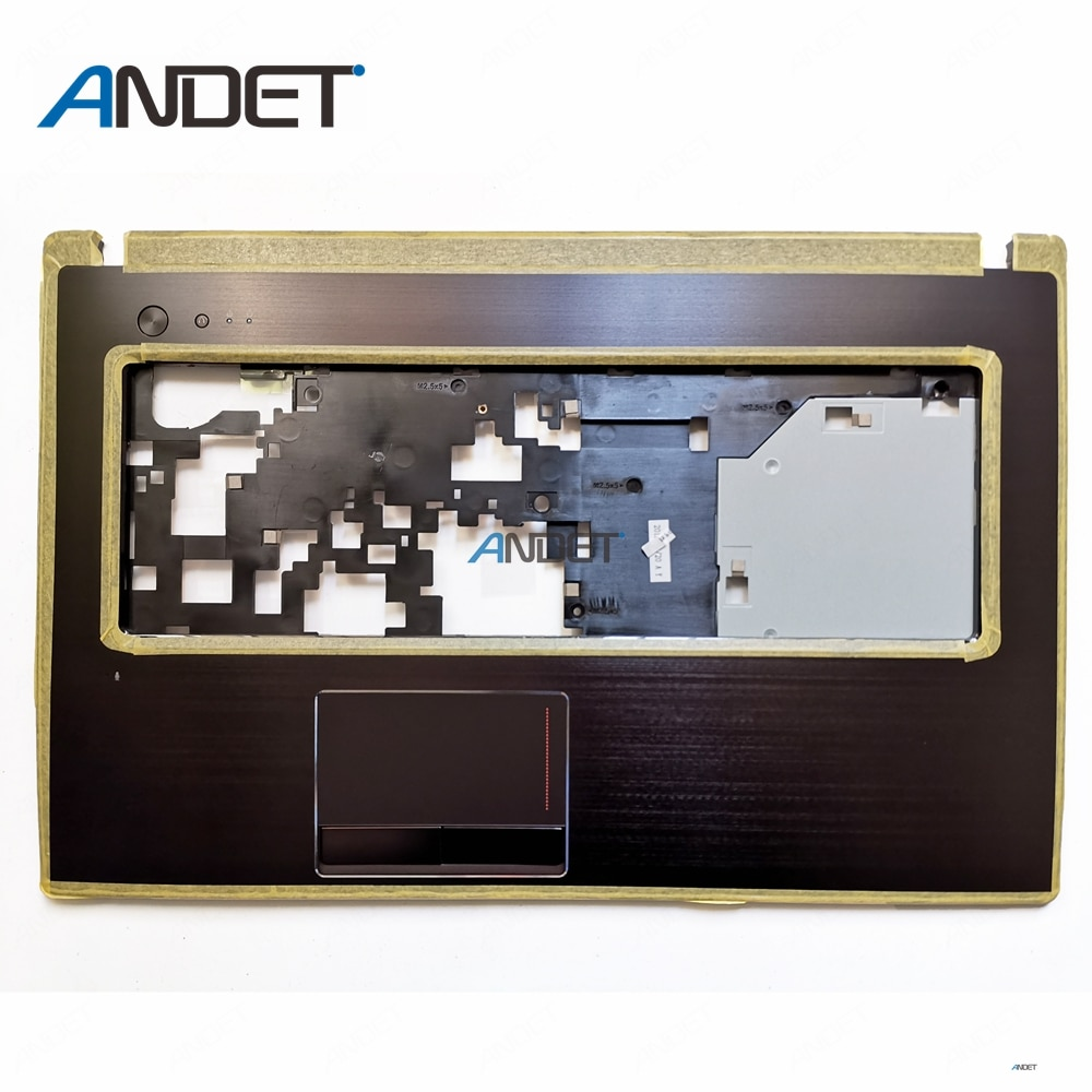 "Nuevo Original para Lenovo G770 G780 Palmrest teclado bisel cubierta superior 17,3 ""Laptop con Touchpad AM0H4000100 31050104 Metal"