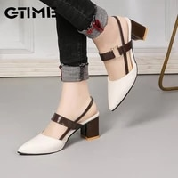 2021 sandals womens summer new pointy chunky sandals large size womens fashion woman shoessjpae 141