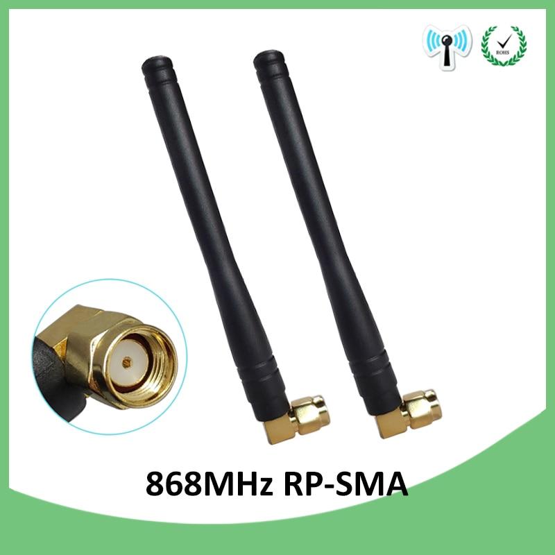 5pcs 868MHz 915MHz Antenna 3dbi RP-SMA Connector 868 MHz 915 MHz antena GSM Antenne directional waterproof antenas for Lorawan