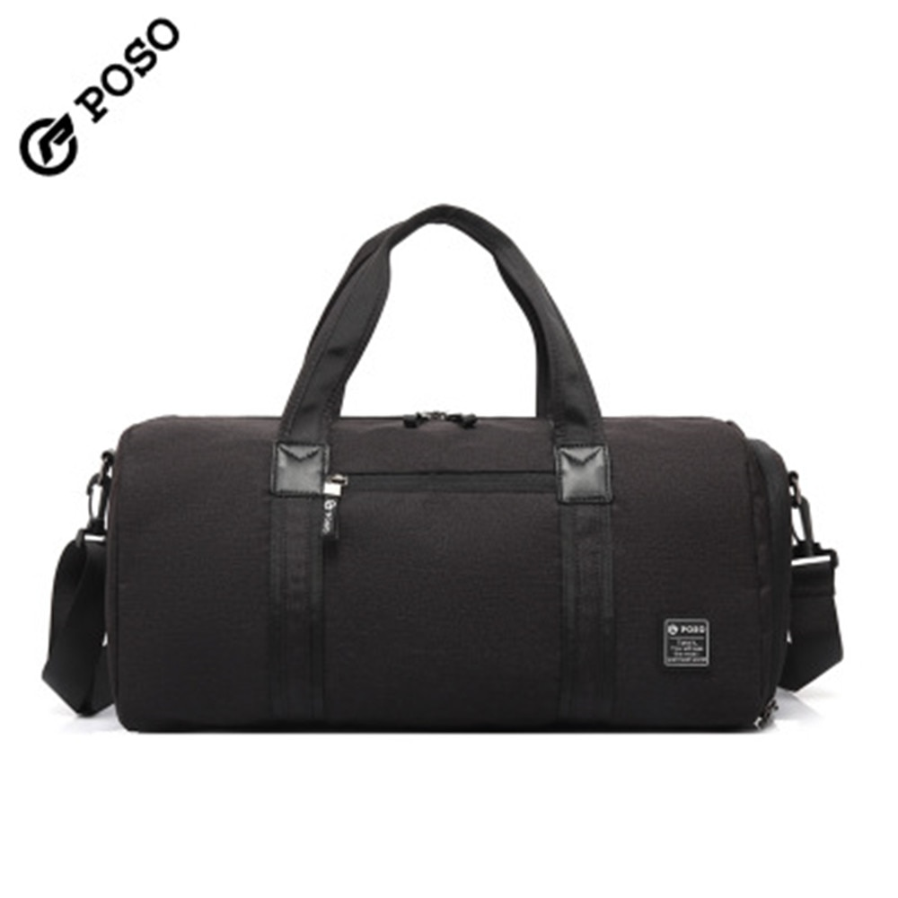 POSO Bag storage bag fitness bag large capacity water-proof bag single shoulder diagonal travel bag sports backpack
