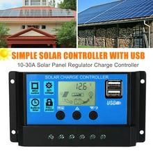 Nuevo controlador de carga Solar 12V/24V Auto enfoque de seguimiento regulador de Panel Solar