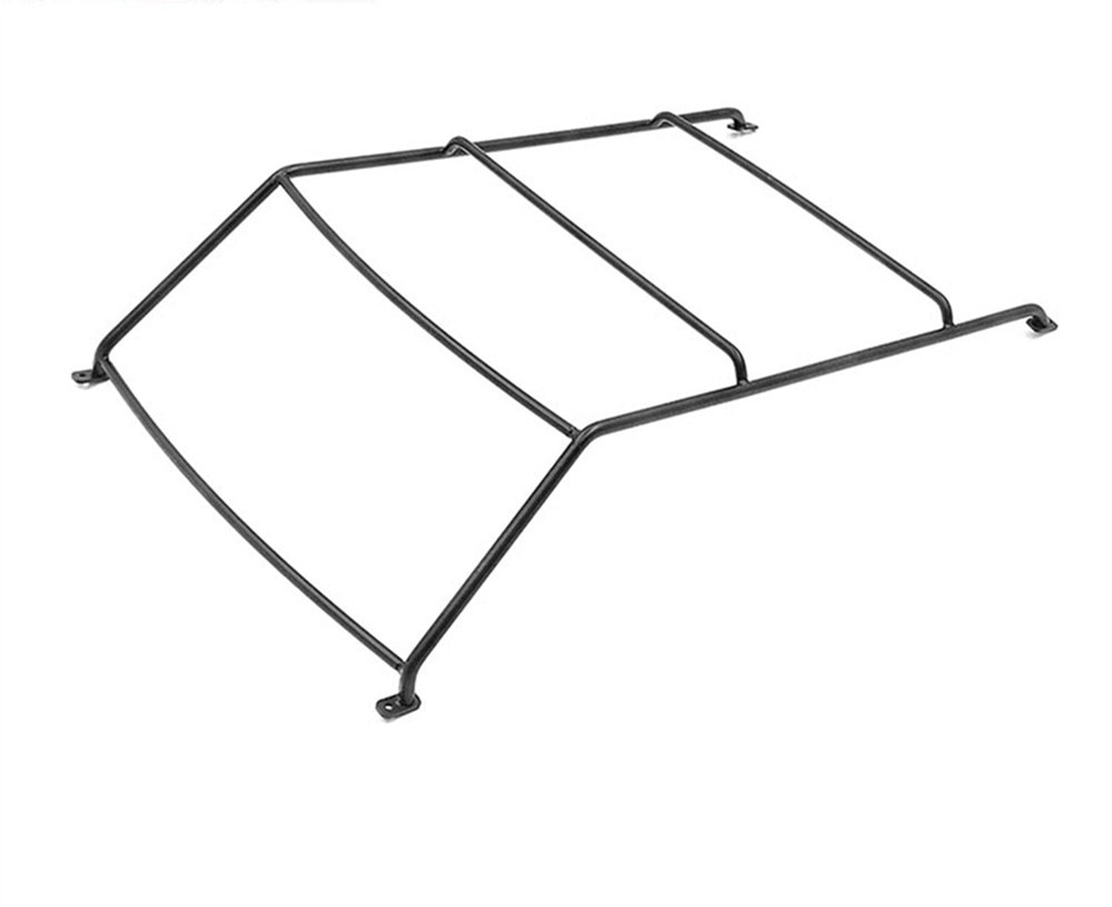 Cage Frame for 1/10 Range Rover RC Car Upgrade Parts Durable Metal Roof Rack Steel Roll enlarge