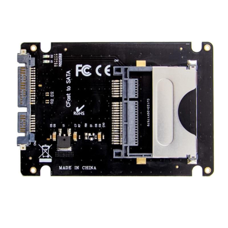 Leitor de Cartão para Computador Cfast Adaptador Polegada Disco Rígido Gabinete Ssd – Hdd Portátil 2.5