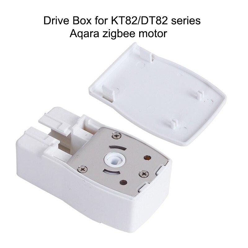 Dooya kt82/dt82/aqara zigbee motor/ aqara b1 curtian motor caixa de condução habitação para dooya somfy ferroviário