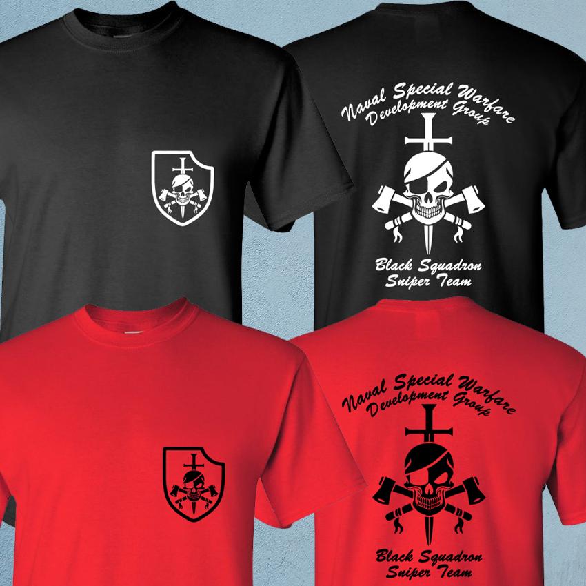 Nswdg Devgru Seal Team Six Black Squadron Us Army Special Force Sniper T-Shirt