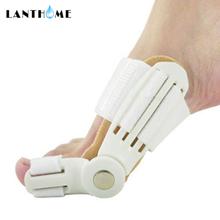 2Pcs Big Toe Separator Hallux Valgus Orthopädische Knochen Finger Pediküre Corrector Schiene Korrektur Bunion Thumb Fuß Pflege Werkzeug