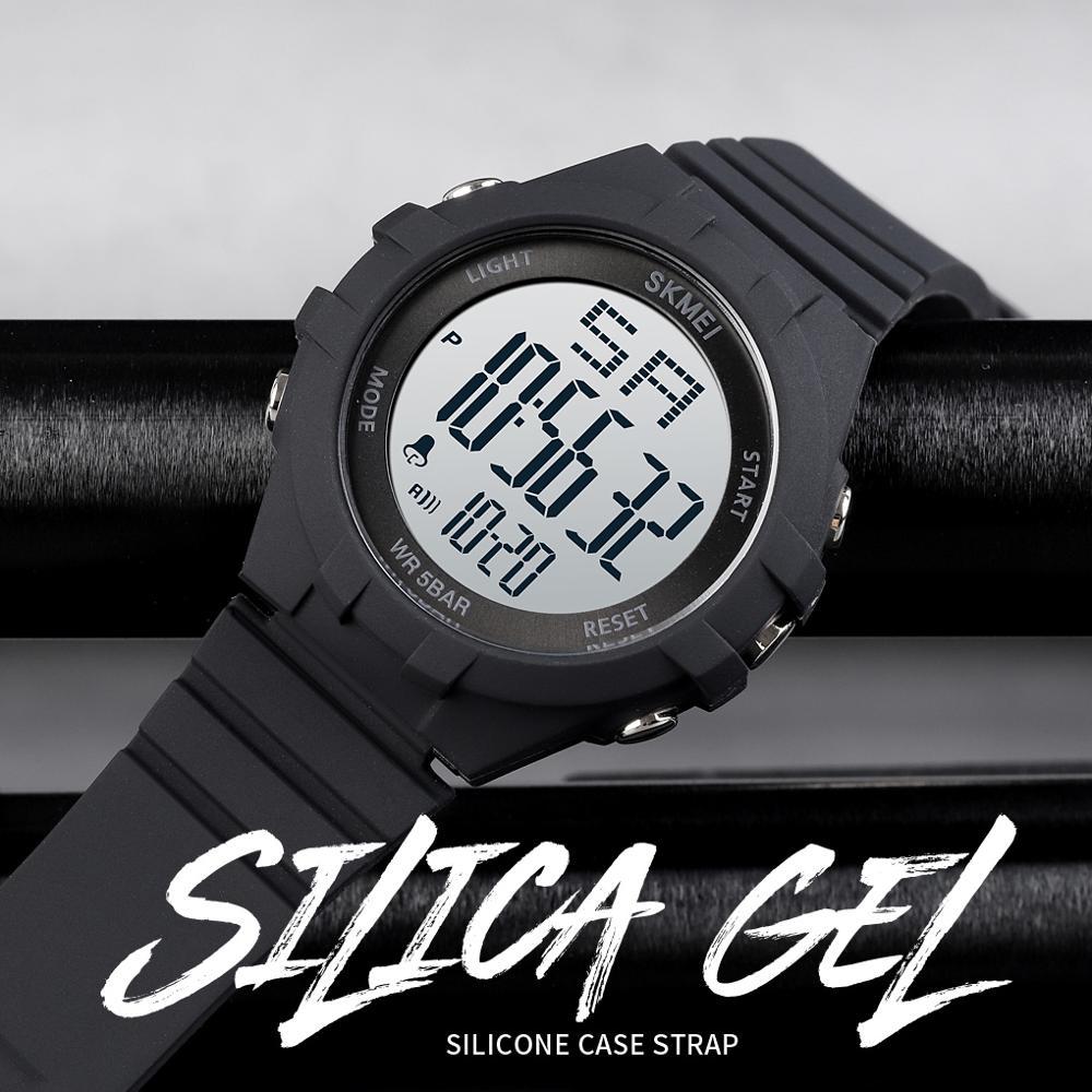 SKMEI 1715 Sport Watch Men Digital Electronic Wristwatch Top Brand Watches 50M Waterproof Led Light Hours Boys Brancelet Watch