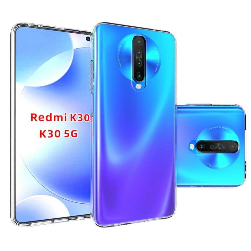 Transparent Silicon Case for Xiaomi Redmi K30 5G for Xiaomi Mi 9T Pro 6GB 64GB 8GB 128GB 256GB Nature soft Phone cover Cases>