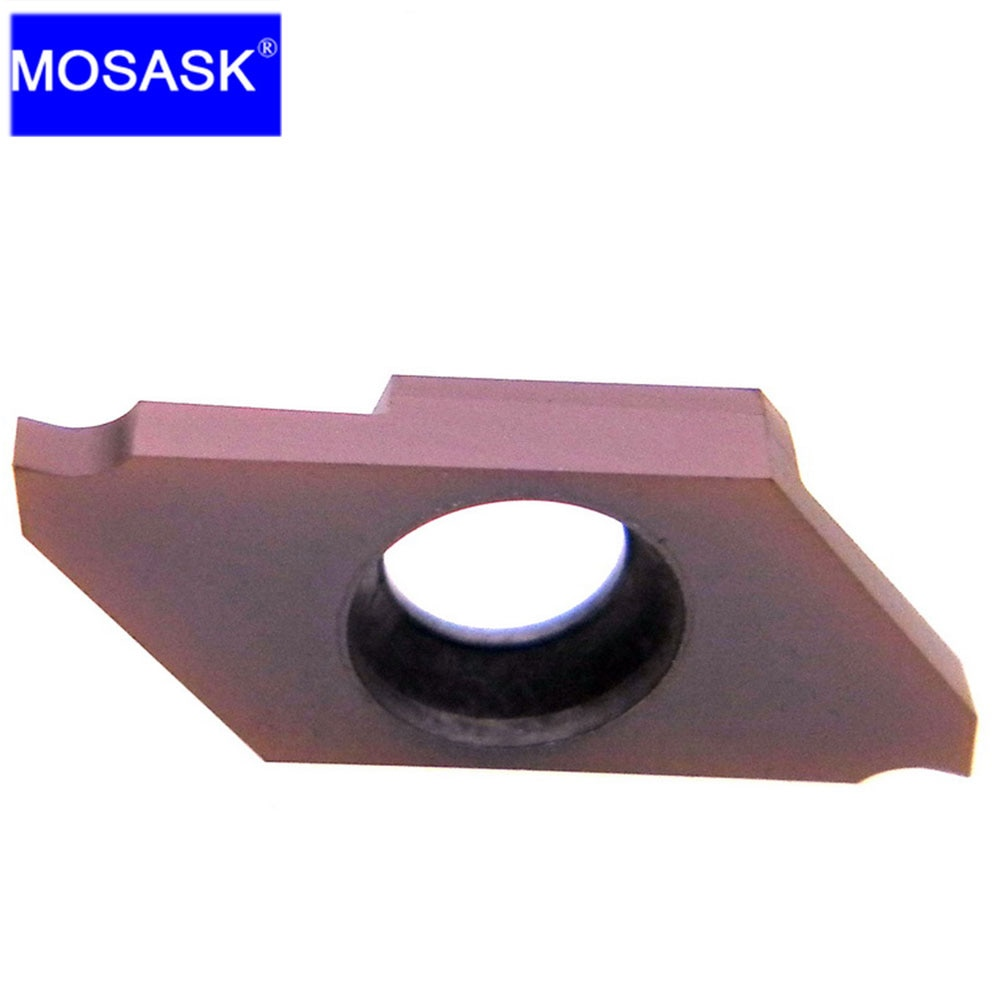 MOSASK S CTP CTPA ZM856 CNC Machining Carbide Inserts Small Parts Cutting Grooving Turning Holder CTPR CTPAR Tools Solid Plates