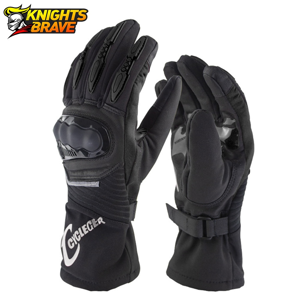 Motorcycle Gloves Winter Windproof Waterproof Guantes Moto Touch Screen Protective Gear Motocross Motorbike Riding Gloves