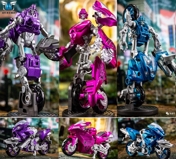 Aoyi-figura de acción de Transformers ls-19 ls19, conjunto de figuras de acción de Arcee elita-one, chroma, tres hermanas supersónicas, juguetes de Robot