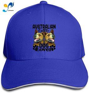 Aust-Ralian Cattle Dog Lover Casquette Sunhat Adjustable Sandwich Cap Baseball Hats