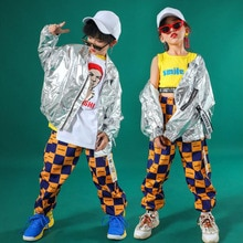 Children Jacket Pants Ballroom Jazz Dance Costumes hip-hop Clothing Boys Modern Jazz Dance Stage wea