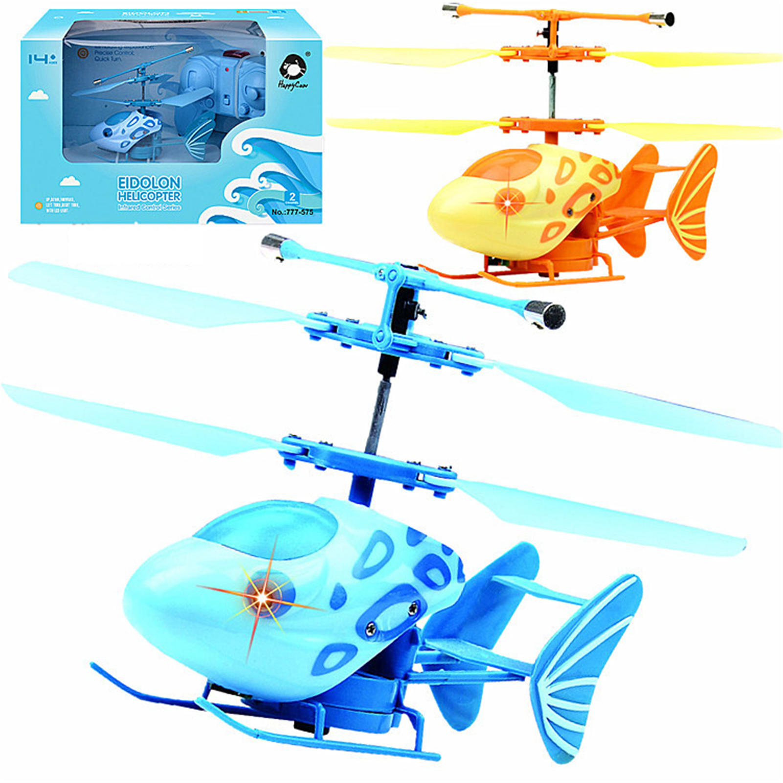 2.4G RC Helicopter with Gyroscope Light Kid Airplane Model Toys for Children Adults Birthday Gifts