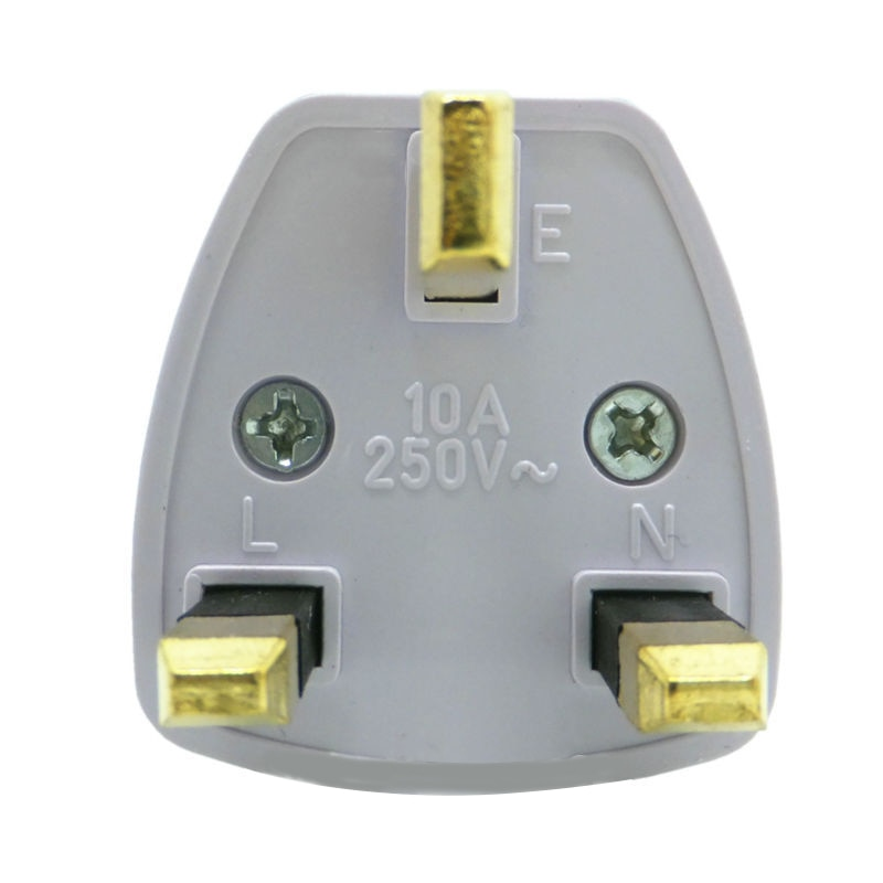 Mini Wand Stecker AC Adapter Universal Plug Travel Power Charger konverter 2/3 löcher Normalen Buchse für haus Spannung UK 10A/250V