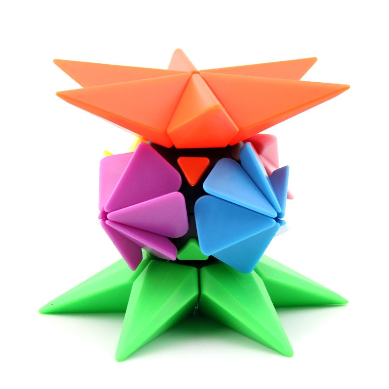 new 3x3 torsion magic cube magnetique coloful twisted cube puzzle toy stickerless puzzles colorful educational toy bandaged cube Pineapple Magic Cube Magnetique Bandaged Cube Toy Speed Cubes Puzzle Cubes Educational Toys Stress Reliever Fun Toys Neo Cube