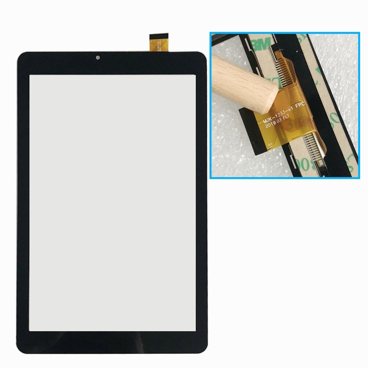 Nuevo para MJK-1233-V1 FPC Tablet Digitalizador de pantalla táctil Panel táctil vidrio de sustitución con Sensor