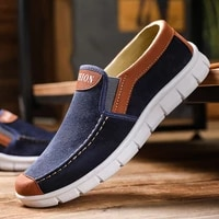 2021 spring autumn men canvas shoes flat casual shoes slip on comfortable breathable shoes man flats size 39 44 mazefeng brand