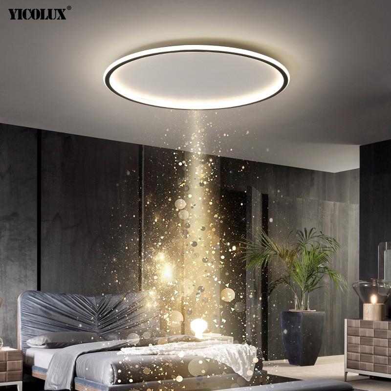 Простые светодиодные потолочные светильники для дома, входа, балкона, гостиной, спальни, комнатные светильники, люстра, освещение
