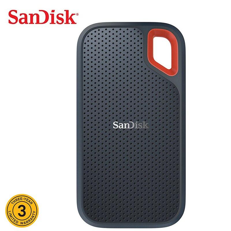Sandisk 1TB Extreme High Speed USB Portable SSD Hard Disk 480GB Mini Portable SSD Type C 2TB External Hard Drive Esterno Laptop