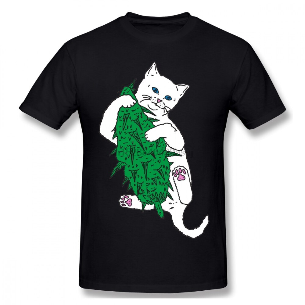 Lord Nermal T Shirt Vegan Cat T-Shirt 100 Percent Cotton Oversize Tee Shirt Fun Casual Printed Short Sleeves Men Tshirt