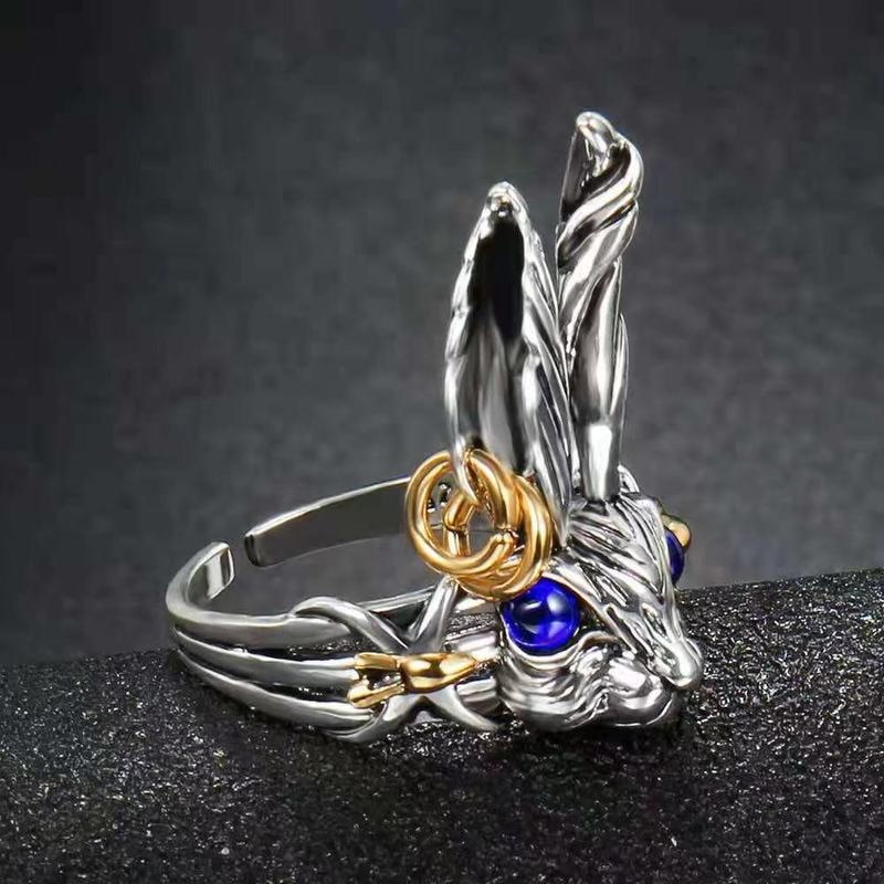 s925-стерлингового-серебра-ювелирные-изделия-с-большими-ушками-белый-кролик-Открытое-кольцо-для-женщин-Молодежные-элегантные-модные-серебря