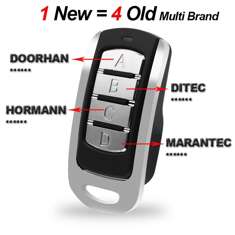 Mando a distancia para puerta de garaje, código rodante 315 390 868 433,92 MHz, mando a distancia, duplicador, control de puerta, garaje, transmisor de mando