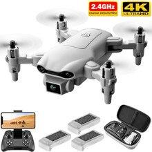 4DRC V9 New Mini Drone 4K 1080P HD Camera WiFi Fpv Air Pressure Altitude Hold Gray Foldable Quadcopt