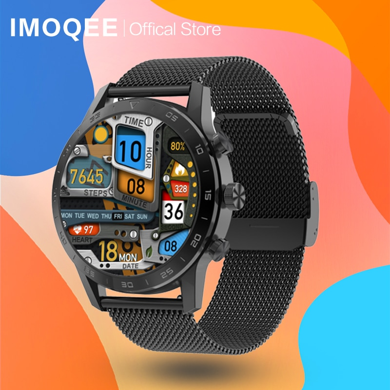 DT70 Smart Watch Men 1.39inch ECG IP68 Waterproof KK70 Bluetooth Call Heart Rate Sleep Monitor Sport