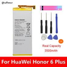 QrxPower Replacement Battery 3500mAh HB4547B6EBC For Huawei Honor 6 Plus PE-TL20 PE-TL10 PE-CL00 PE-UL00