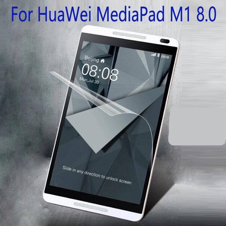 "Claro Protector de pantalla LCD Protector película protectora para Huawei Mediapad M1 S8-301W 8 ""Tablet"