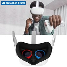 VR Lens Anti-Scratch Ring For Oculus Quest 2 Protecting Glasses From Scratching Frame Len Compatible For Oculus Quest 1/2 Rift S