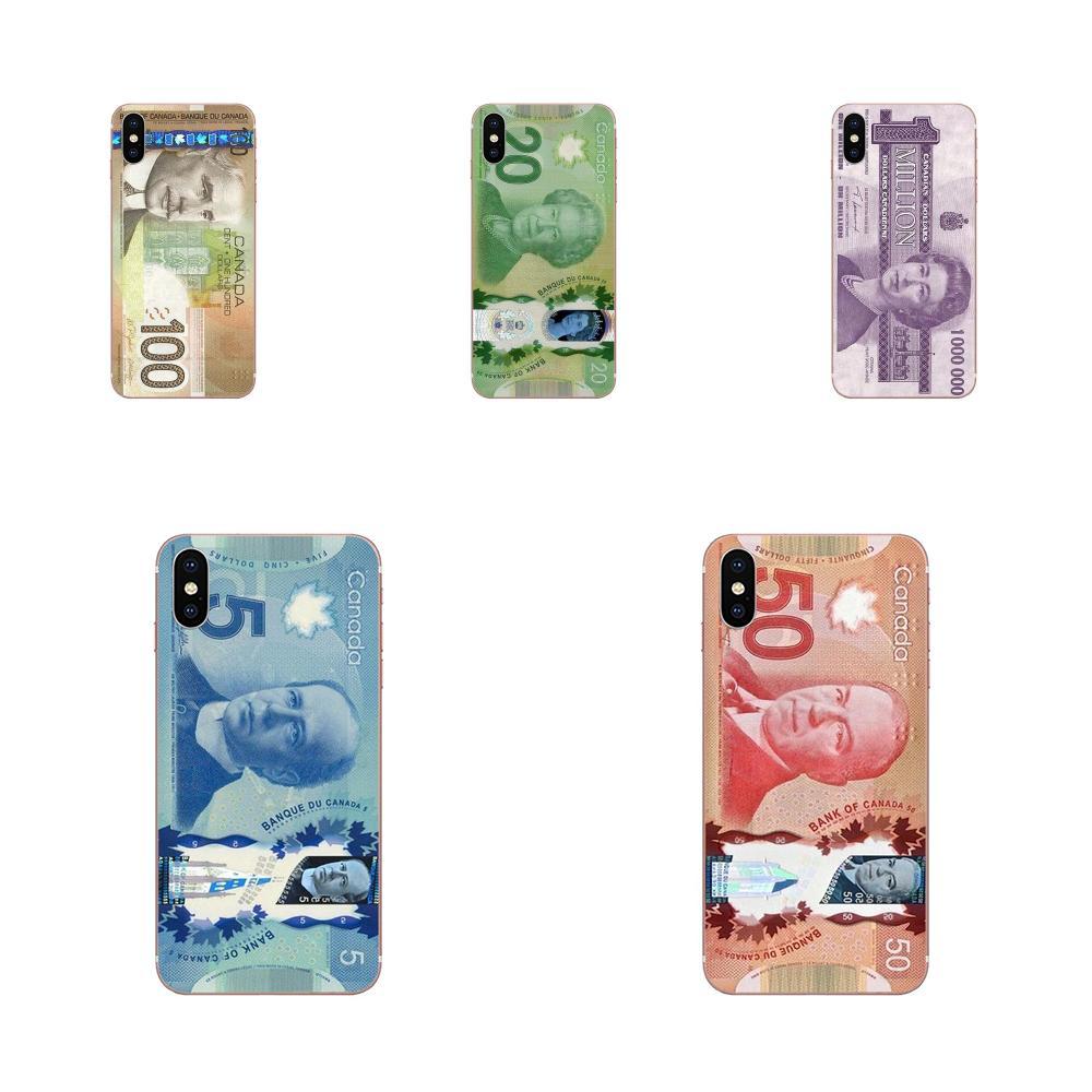 Funda de teléfono para Huawei Honor Nova Note 5 5I 8A 8X 10 Pro 9X para Moto G G2 G3 G4 G5 G6 G7 Plus Dólar Canadiense
