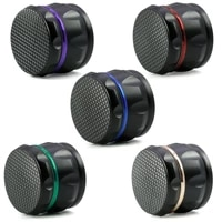 fashionable and convenient 63mm 4 layer zinc alloy herbal herb tobacco grinder smoke grinders tobacco herb spice grinder