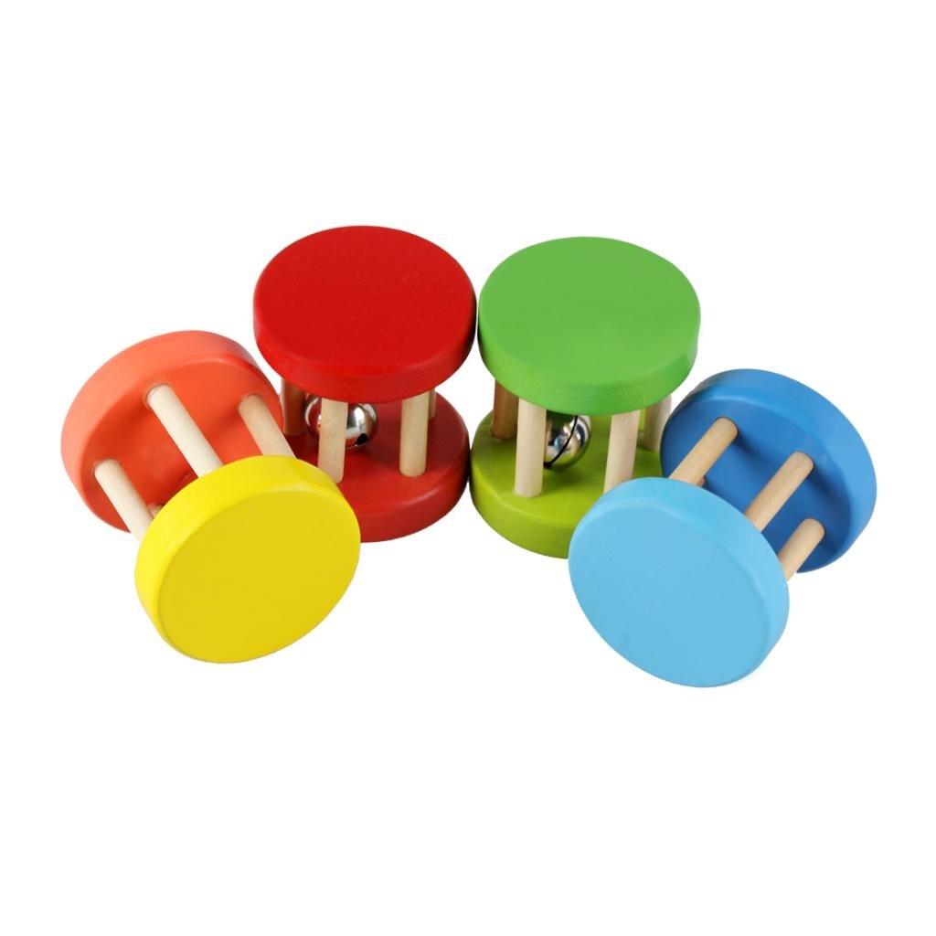 Pandereta de mano, campana de percusión, instrumento Musical de juguete para bebés y niños para aprender música