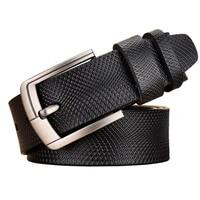 luxury designer belts for men high quality genuine leather belt cowskin fashion strap male jeans cowboy mens retro leather belt